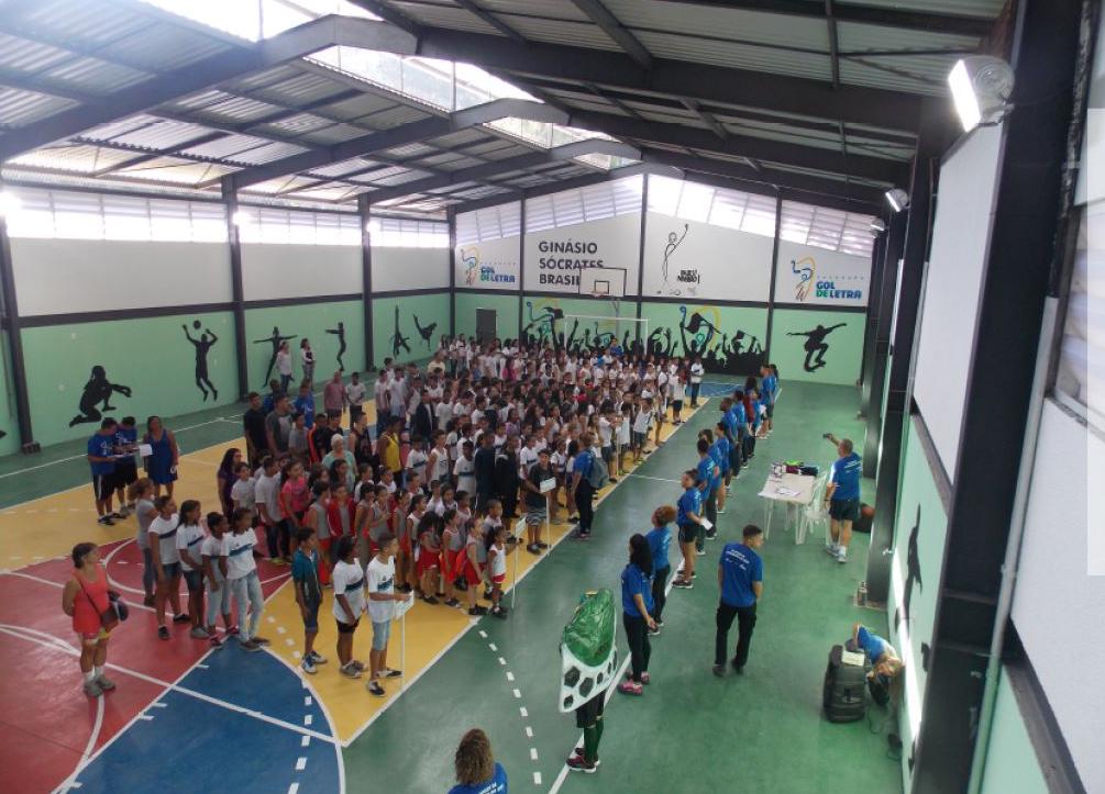 Fundação Gol de Letra Ginásio Socrates Brasileiro